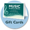 Online music lessons gift cards