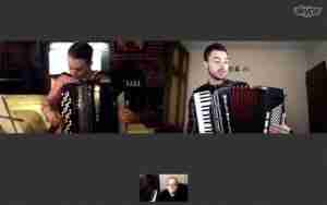 Live online accordion lesson Music Lessons Anywhere