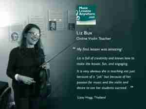Skype violin lesson online review