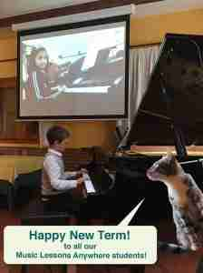 Music Lessons Anywhere, music and piano lessons live online Happy New Term