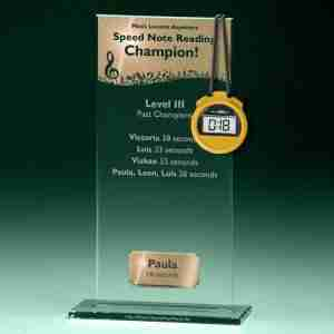 Music Lessons Anywhere Speed Note Reading Level III Trophy Paula 18 seconds