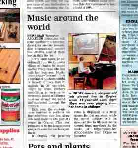 Music Lessons Anywhere online piano concert article Costa-del-Sol-News