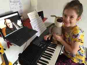 Music Lessons Anywhere piano lessons live online Maggie and Boofie