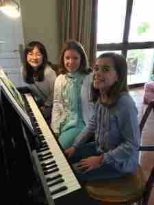 MusicLessonsAnywhere online piano lessons students