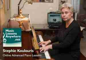 Skype advanced piano lessons - Music Lessons Anywhere