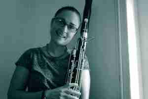 Online bassoon lessons and online flute lessons with Kate at Music Lessons Anywhere online music school