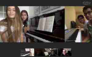 Skype online music lessons workshops and events