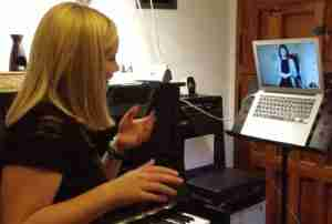 Music Lessons Anywhere online singing lessons