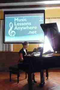 Music Lessons Anywhere - Skype Piano Online Concert 2016