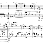 07 Second Piano Sonata - For piano solo - Copyright Bohdan Syroyid - Online Sibelius lessons