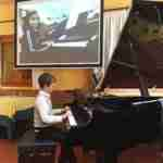 Skype piano lessons online concert
