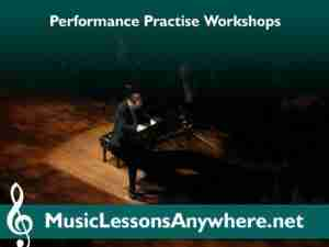 Online Performance Practise Workshops for Skype piano lessons students