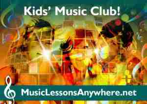 Online Music Lessons Kids Music Club