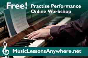 Free Practise Performance Online Music Lessons Workshop