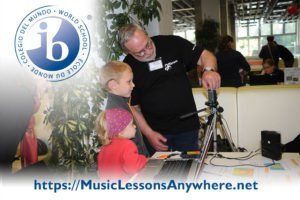 Skype IB Programme Early Years online in music