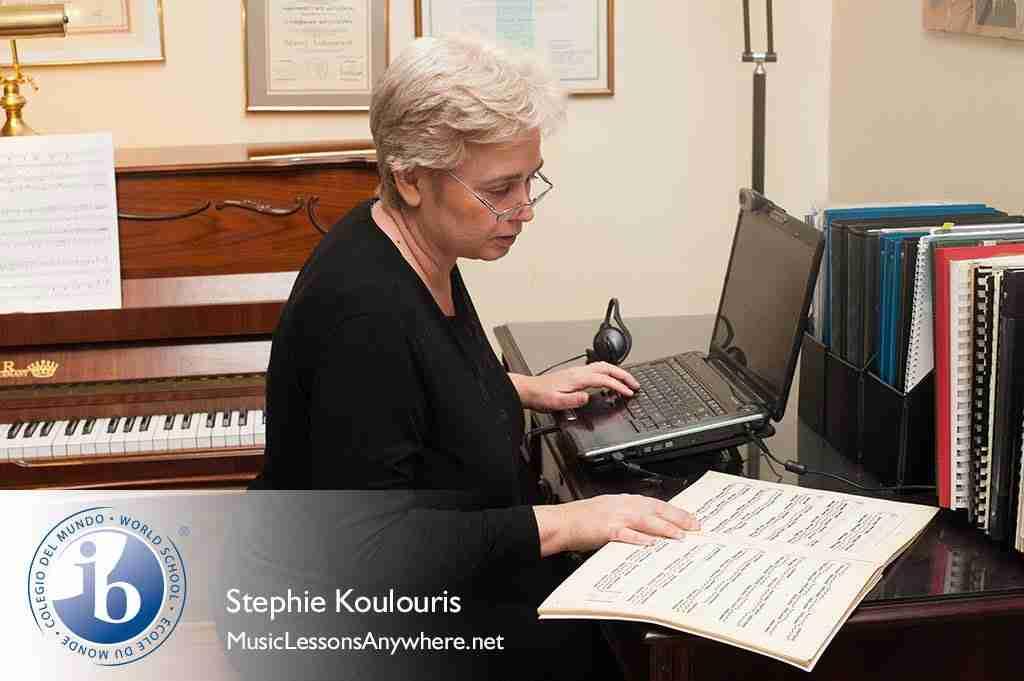 Skype IB Programme online in music