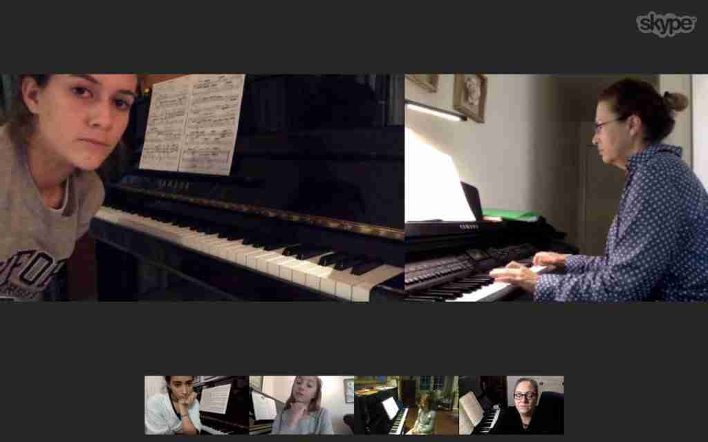 Skype music lessons live online - Music Lessons Anywhere