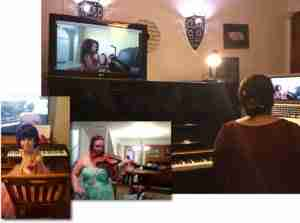 Live Skype concert online Music Lessons Anywhere