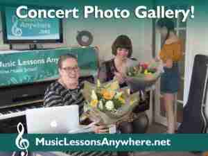 Music Lessons Anywhere Skype concert online photo gallery