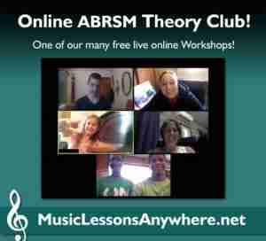 Skype theory lessons online - Music Lessons Anywhere