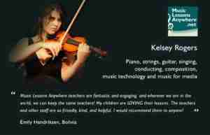 Kelsey online cello lessons review - Emily Hendriksen
