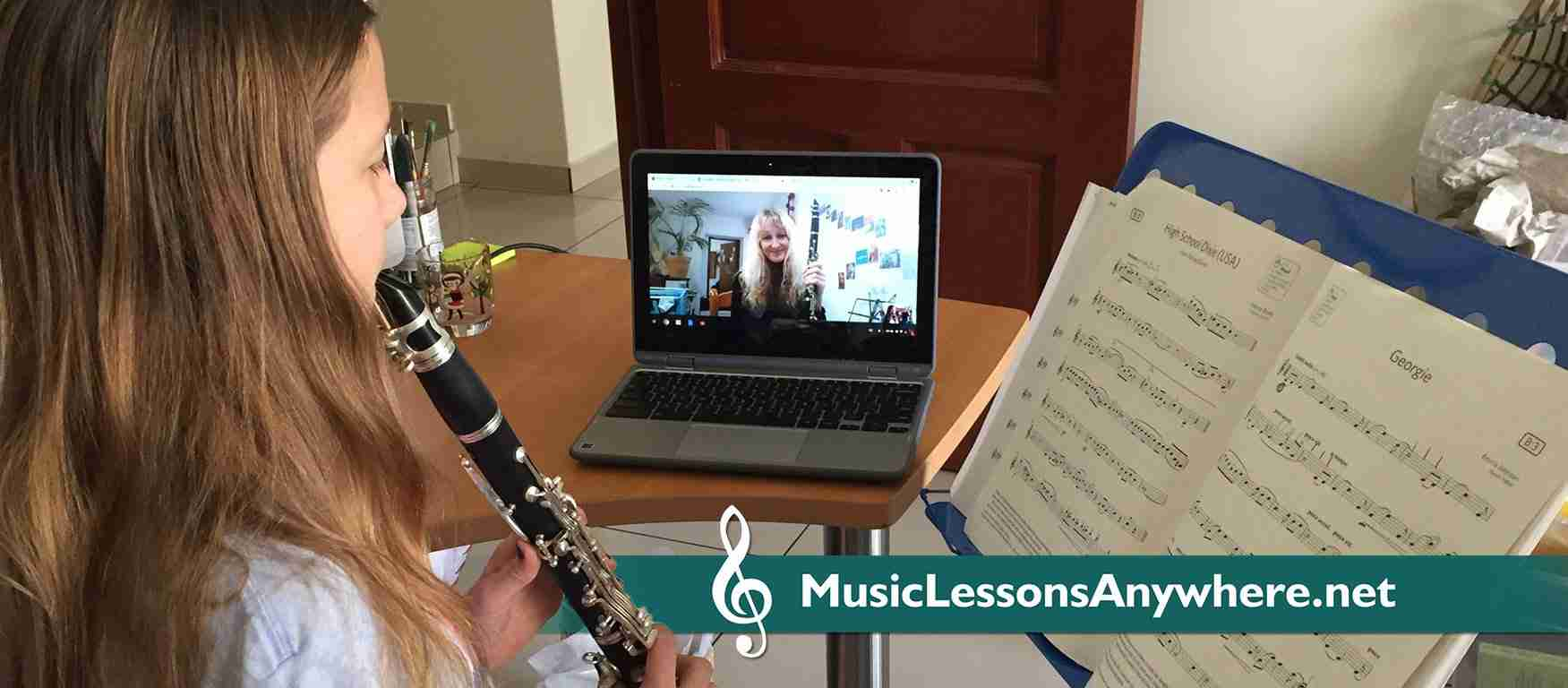 Skype Clarinet Lessons Online & Skype Saxophone Lessons