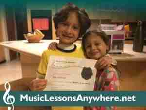 Shia Skype piano lessons online Student of the Month - Music Lessons Anywhere