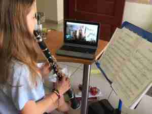Skype clarinet lessons online - Music Lessons Anywhere