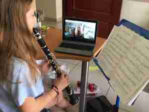 Skype clarinet lessons online live