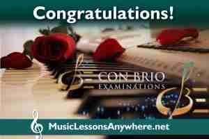 Con Brio piano exam live online piano lessons