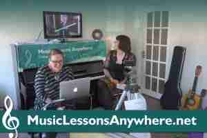 Live online music lessons live online concert performers rehearsal