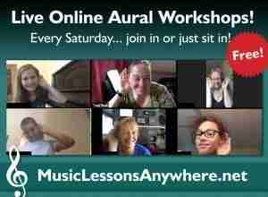 Free live online ABRSM Aural Workshops - Music Lessons Anywhere