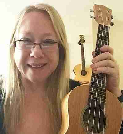 Katrina Hall - Skype ukulele lessons live online- Music Lessons Anywhere