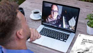 Tracy Rose teaching teachers how to teach online - Music Lessons Anywhere