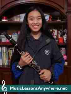 Nikki - Skype Clarinet Student Of The Month