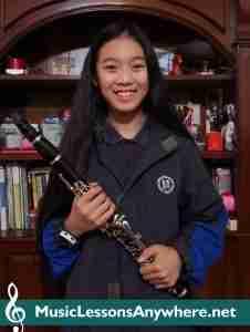 Nikki - Skype Clarinet Student Of The Month