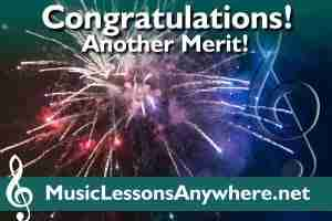 Congratulations ABRSM Grade 5 Theory Exam Merit