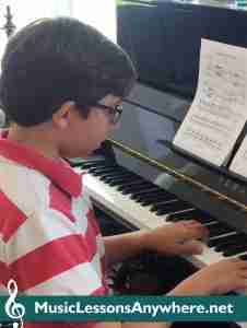 John - Skype Piano Student Of The Month