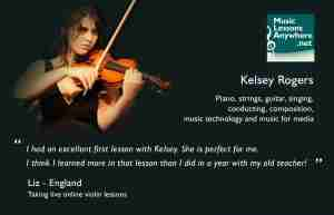 Skype violin lessons online review