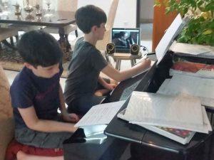 Skype homeschool music lessons online