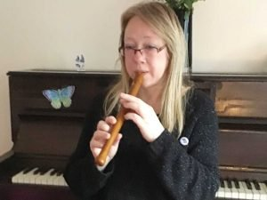 Skype recorder teacher Katrina at Music Lessons Anywhere