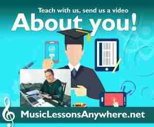 Teach music online at Music Lessons Anywhere