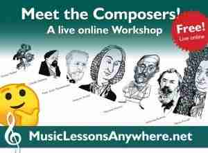 Live online meet the composers Workshop