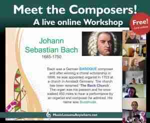 Meet The Composers live online Workshop screenshot