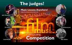 Film music composing competition judges - Music Lessons Anywhere