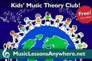 Kids Music Online Theory Club