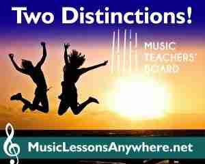 Congratulations MTB Piano Exam Distinction - Music Lessons Anywhere