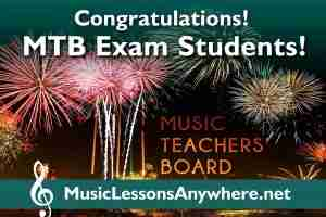Congratulations MTB music exam students - Music Lessons Anywhere
