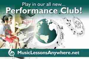 Live online music Performance Club Workshop