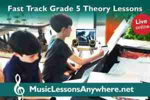 Online Grade 5 Theory Lessons Fast Track